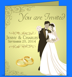 Wedding Card Designer Design