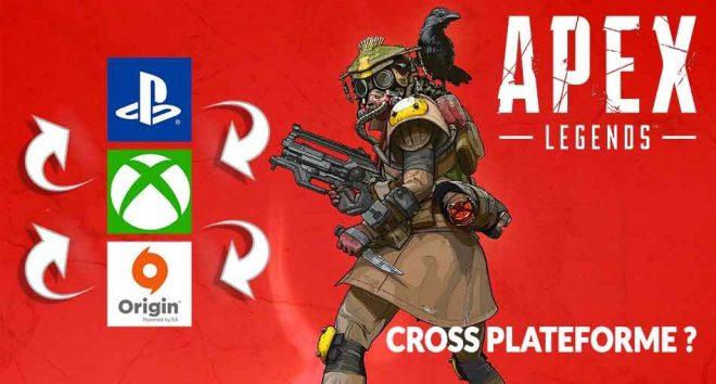 du cross-play sur apex legends (jouer entre joueurs pc