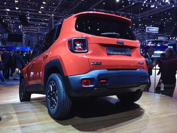 Jeep Renegade Salon de Genève 2014