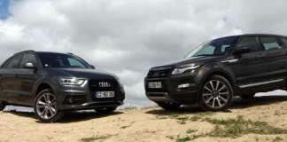 Range Rover Evoque contre Audi Q3