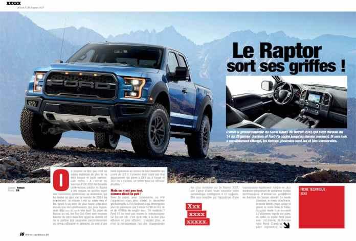 Ford Raptor 2017