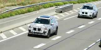 BMW X5 BMW X7 SPY SHOT