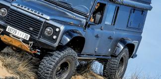 Land Rover Defender SW 130 V8 de RR Concept