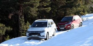 Hyundai Tucson 48 V et Mitsubishi Outlander PHEV
