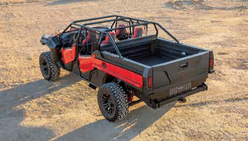 Rugged Open Air Vehicle Concept