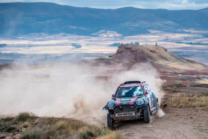 Baja Aragon FIA 2013 triplé Mini X raid