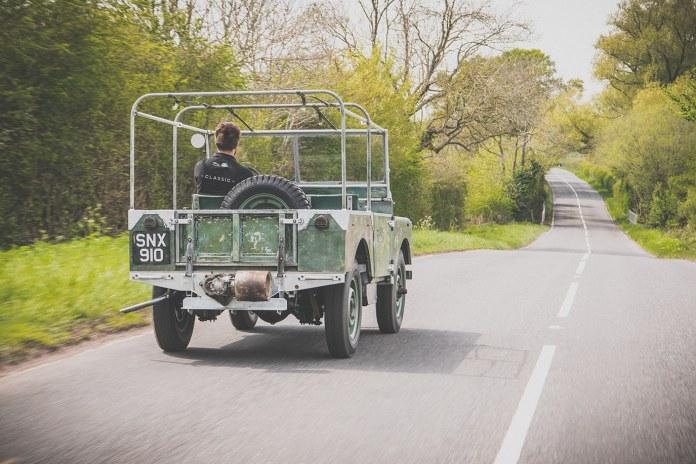 Land Rover serie 1 restauration