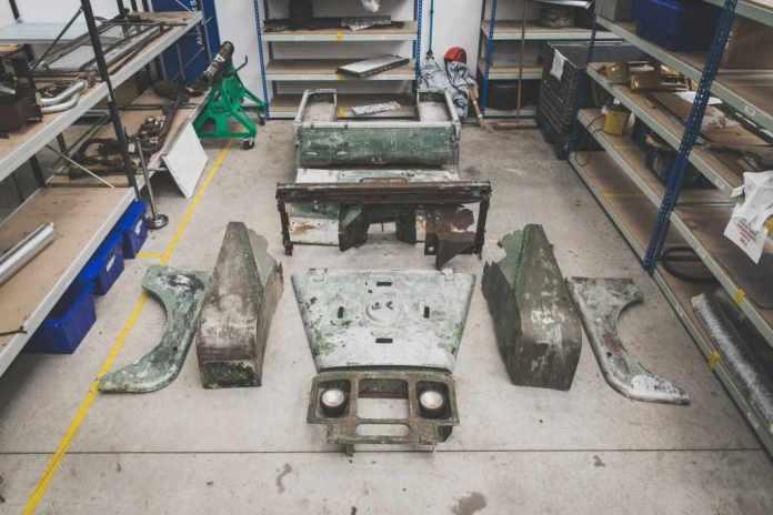 Land Rover classic restaure l'un des 3 premier Serie 1 de 1948