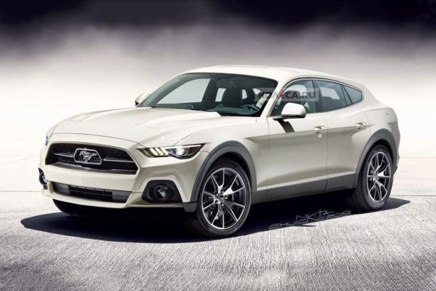 SUV Ford Mustang 2020