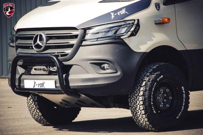 Le X-Rock 3C Cartier Mercedes