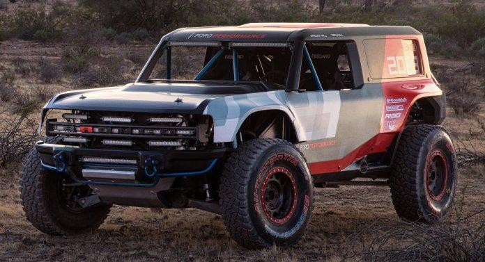 Ford Bronco R prototype Baja 1000