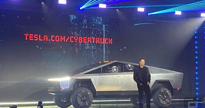 Tesla Cybertruck il a surpris avant tout par son style réellement Cybertruck !