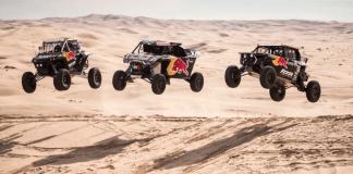 Red Bull Junior program SSV dakar Rallye