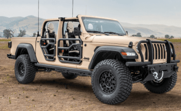Jeep Gladiator 4x4 US Army
