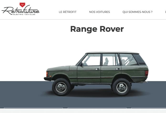 Retrofit passer son range Rover à l'électrique