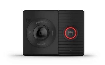 Garmin Cette caméra embarquée compacte est dotée de deux objectifs 180 degrés