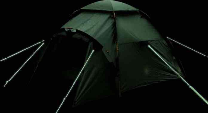 piquet de tente phosphorescents