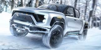 Pick up Badger hydrogène 1000 km d'autonomie