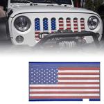 Jeep grille de calandre protectrice aux couleurs Stars and Stripes...