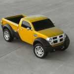 Le concept car du Dodge M80, petit pick up présenté au salon de Détroit en 2002 devait être mis en production afin de séduire le client du nouveau siècle