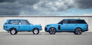 Land Rover Happy birthday Range Rover Série limitée Fifty pour le demi-siècle du Range Rover