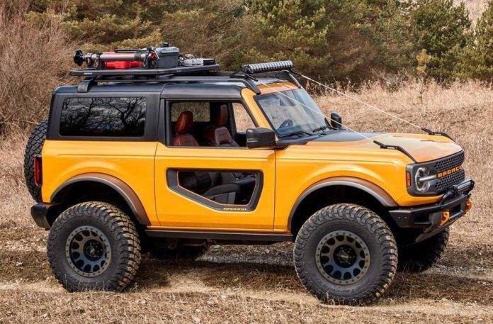 Le Bronco de base est déjà un 4x4 très performant. Il est livré en standard avec quatre roues motrices et une boîte de transfert électronique à deux vitesses avec un rapport court de 2,72.