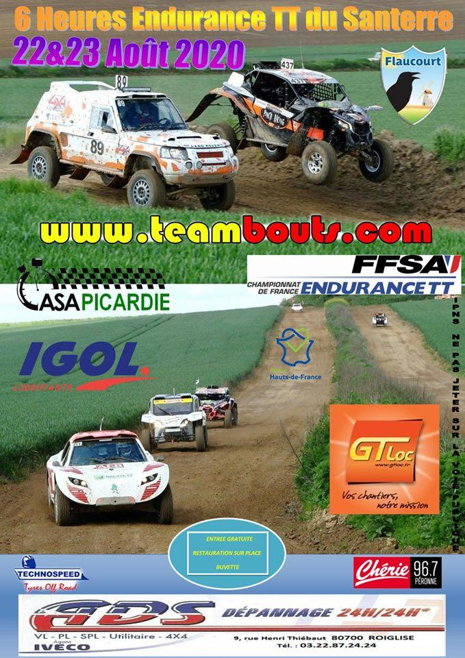 6h de Santerre 2020 endurance TT