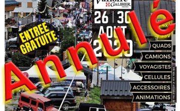 Salon 4x4 de Valloire 2020 annulé