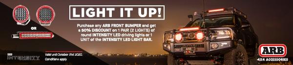 obtenez 50% de remise sur une paire (2) de projecteurs LED
