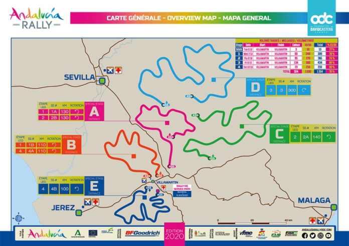 Andaloucia Rally Davis Castera l'explique