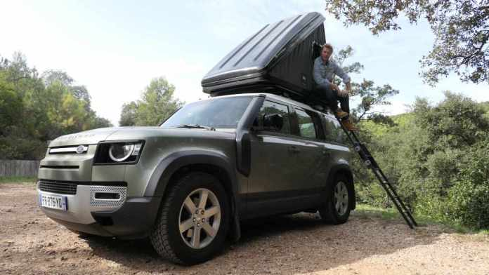 Land Rover Bookez votre Defender sur Booking.com