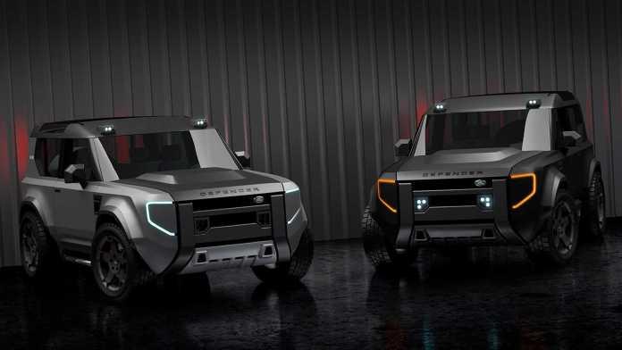 Land Rover  Baby Defender en 2022