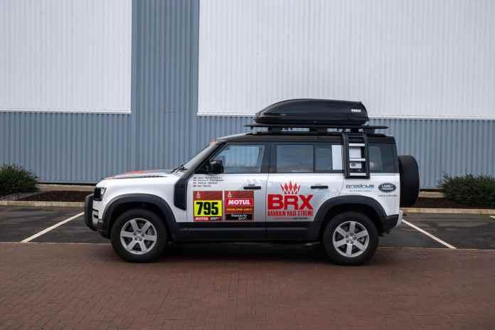 Land Rover Le Defender sur le Dakar 2021