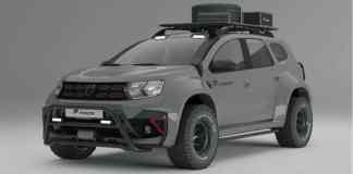 Dacia Duster Préparation Extrême Prior Design