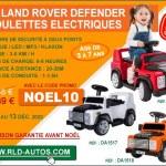 RLD AUTOS Le père Noël roule en Land Rover