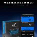 ARB pression des pneus connectée La pression via une appli