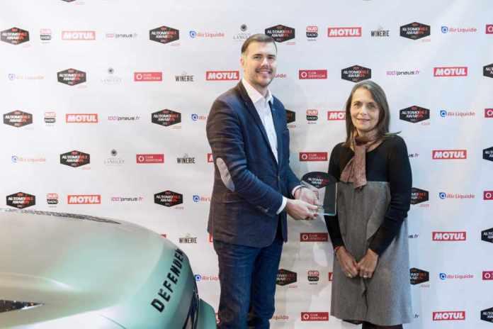 Land Rover Le Defender élu utilitaire de l'année