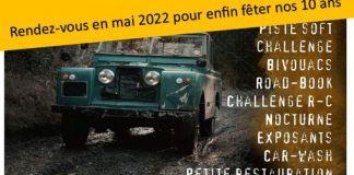 Rassemblement Goutte d'huile 2021 annulé Rendez-vous en 2022