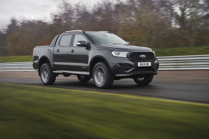 Ford Nouveau Ranger suréquipé Version MS-RT dispo au 2e semestre 2021