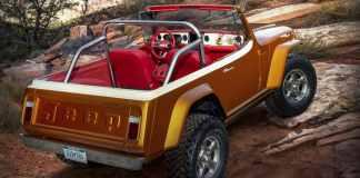 Jeep Eastern Safari Le Jeepster Commando 2021 « Jeepster Beach » sur Commando 1968