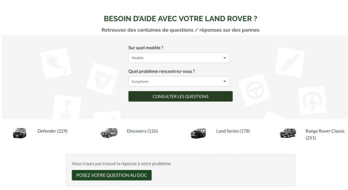 Landers Shop répond à vos questions Land Allo Docteur Land !