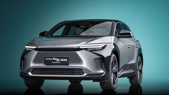 Toyota concept bZ4X