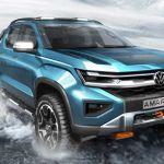 Volkswagen Le Pick Up Amarok 2021 Cousin du Ford Ranger