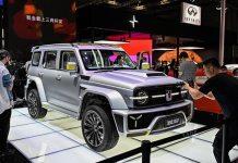 Wey Cyber Tank 300 Entre Mercedes G et Bronco !