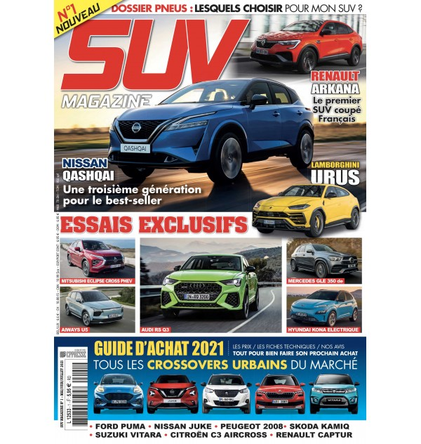 SUV Magazine N°1 en kiosque