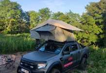 MQ Accessoires 4x4 Les tentes de toit Skye