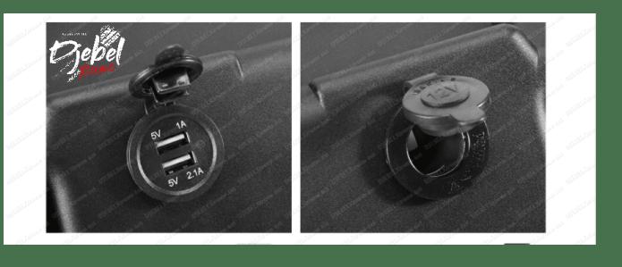 RLC Diffusion Bac à batterie pré-câblé Djebel Xtreme