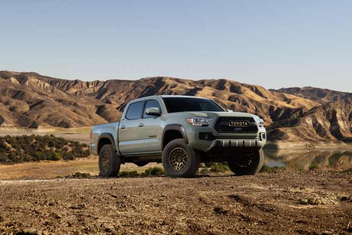 Toyota Pick up Tacoma 2022 Tacoma Trail Edition et TRD Pro 2022  Toyota a enfin lancé les très attendus