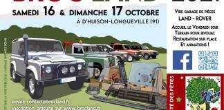Broc'Land 2021 Marché aux puces 100% Land Rover