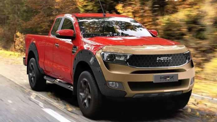 H2X Global Présente son Ford Ranger à Hydrogène